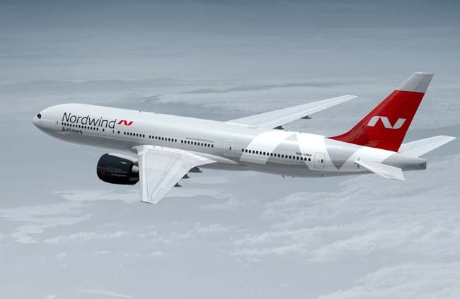 Nordwind Airlines samolyot